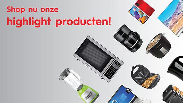 Shop nu onze highlight producten__Web banner_585 x 330 px
